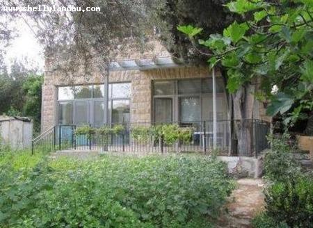 Real Estate Israel - Jerusalem German Colony Greek Colony exquisite 4 room garden unit with domed ceilings, private entrance, includes separate... Shelly Landau Properties