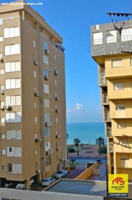 Real Estate Israel - Netanya City Center Excellent location, spacious apartment, closets in the rooms, sea view, front, renovated building,... Anglo Saxon Netanya