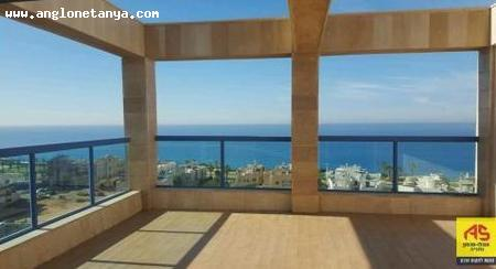 Real Estate Israel - Netanya Nof Atayelet/ nat 600 North On Ha'Gila Street. In front of the promenade, close to the beach and near the city center, a very... Anglo Saxon Netanya