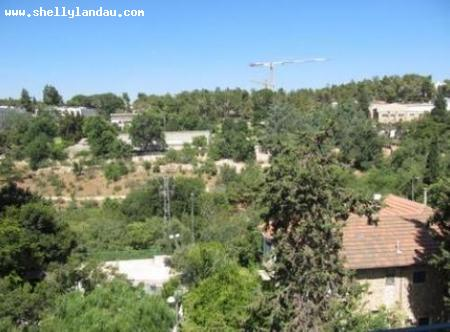 Real Estate Israel - Jerusalem Nayot in a pastoral setting near Rehavia and by the Israel Museum.  Elegant newly constructed four and a... Shelly Landau Properties