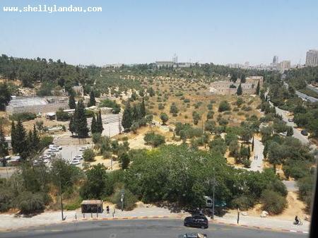 Real Estate Israel - Jerusalem Kiryat Shmuel Overlooking historical Crusader Fortress , spectacular view towards the Knesset and Israel Museum,... Shelly Landau Properties
