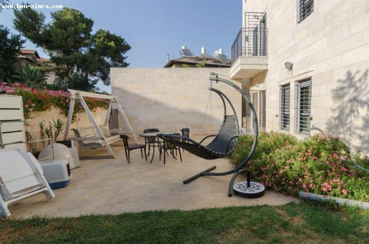 Real Estate Israel - Jerusalem Old Katamon Old Katamon close to Shtibleh,Unique house with 50 sqm swimming pool,gardens, huge terrace with... Ben Zimra Real Estate