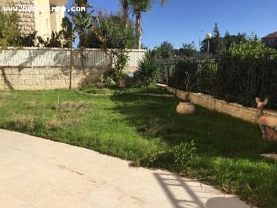 Real Estate Israel - Jerusalem Baka RARE!beautiful appartment with huge private garden more than 200 sqm,private entrance,disabled... Ben Zimra Real Estate