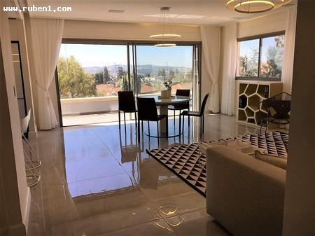 Real Estate Israel - Jerusalem Rehavia Luxurious Penthouse in the heart of Rehavia, KKL st. Net area 110 sqm + 19 sqm Succah balconies,... Rubens Real Estate