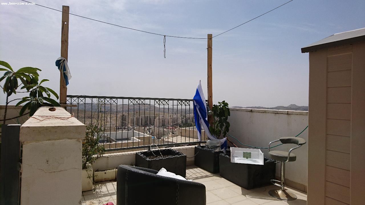 Real Estate Israel - Jerusalem Har Homa In the center of Har Homa,in a building with shabat elevator,Wonderfull duplex- fully lighetd and... Ben Zimra Real Estate