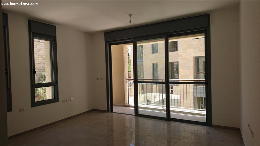 Real Estate Israel - Jerusalem Baka In Bakaa close to Emek Refayim,in a luxury building,nice apartment,quiet,with balcony,parking and... Ben Zimra Real Estate