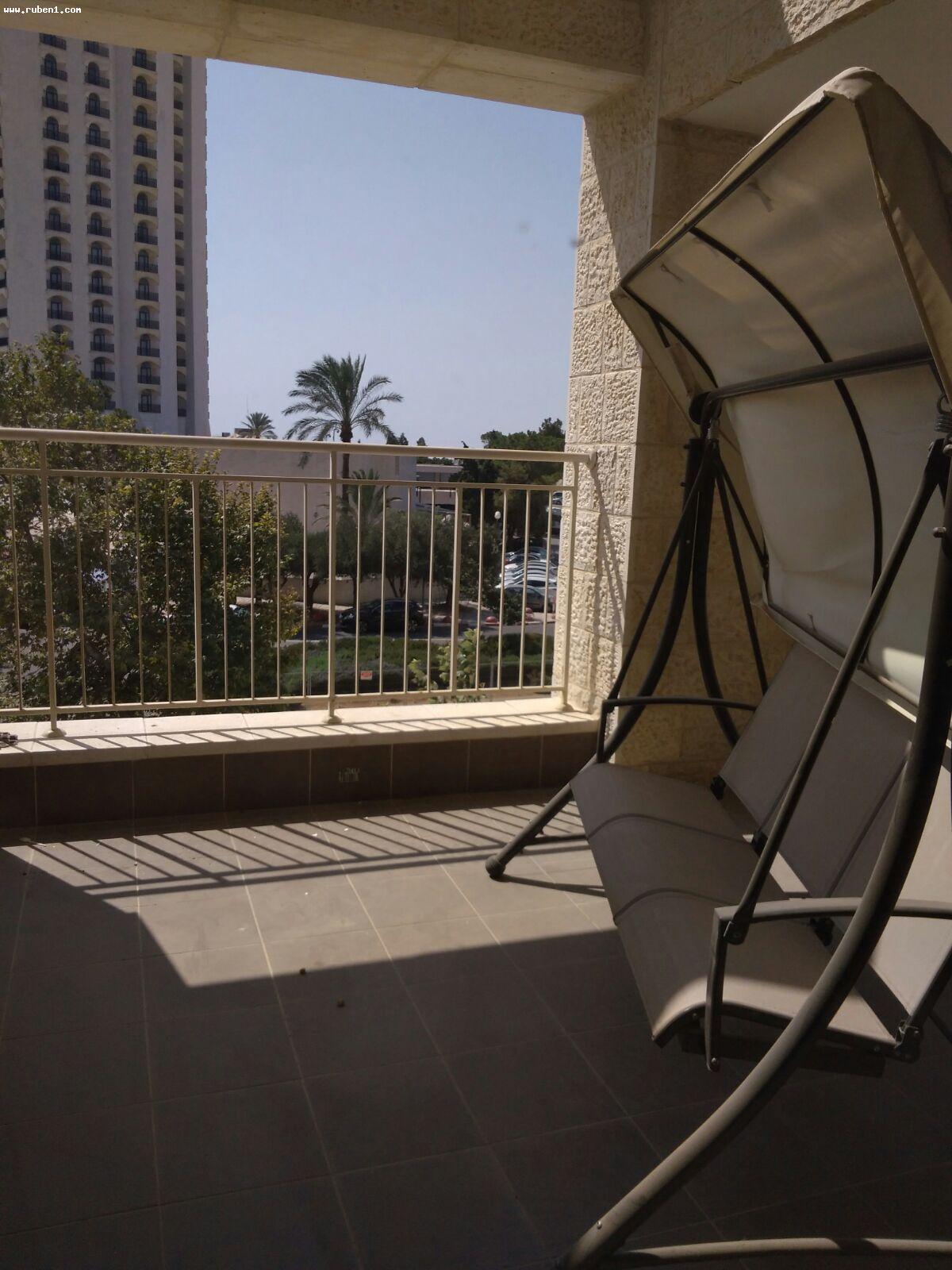 Real Estate Israel - Jerusalem Bayit Vagan משכנות האומה בבניין חדש, 3.5 חד', מרפסת גדולה,קומה 2,... Rubens Real Estate