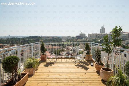 Real Estate Israel - Jerusalem City Center UNBELIEVABALE AND UNIQUE PENTHOUSE IN THE CENTER OF JERUSALEM.  5 MIN FORM THE MARKET BUT... Ben Zimra Real Estate
