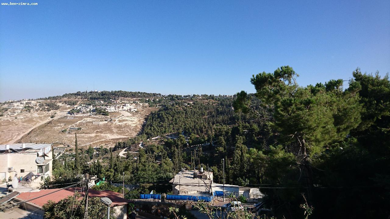 Real Estate Israel - Jerusalem Abu Tor COTTAGE -APARTMENT 130 SQM, 6 ROOMS  ,4 ROOMS +  2 ROOMS UNIT LARGE PRIVATE GARDEN  80... Ben Zimra Real Estate