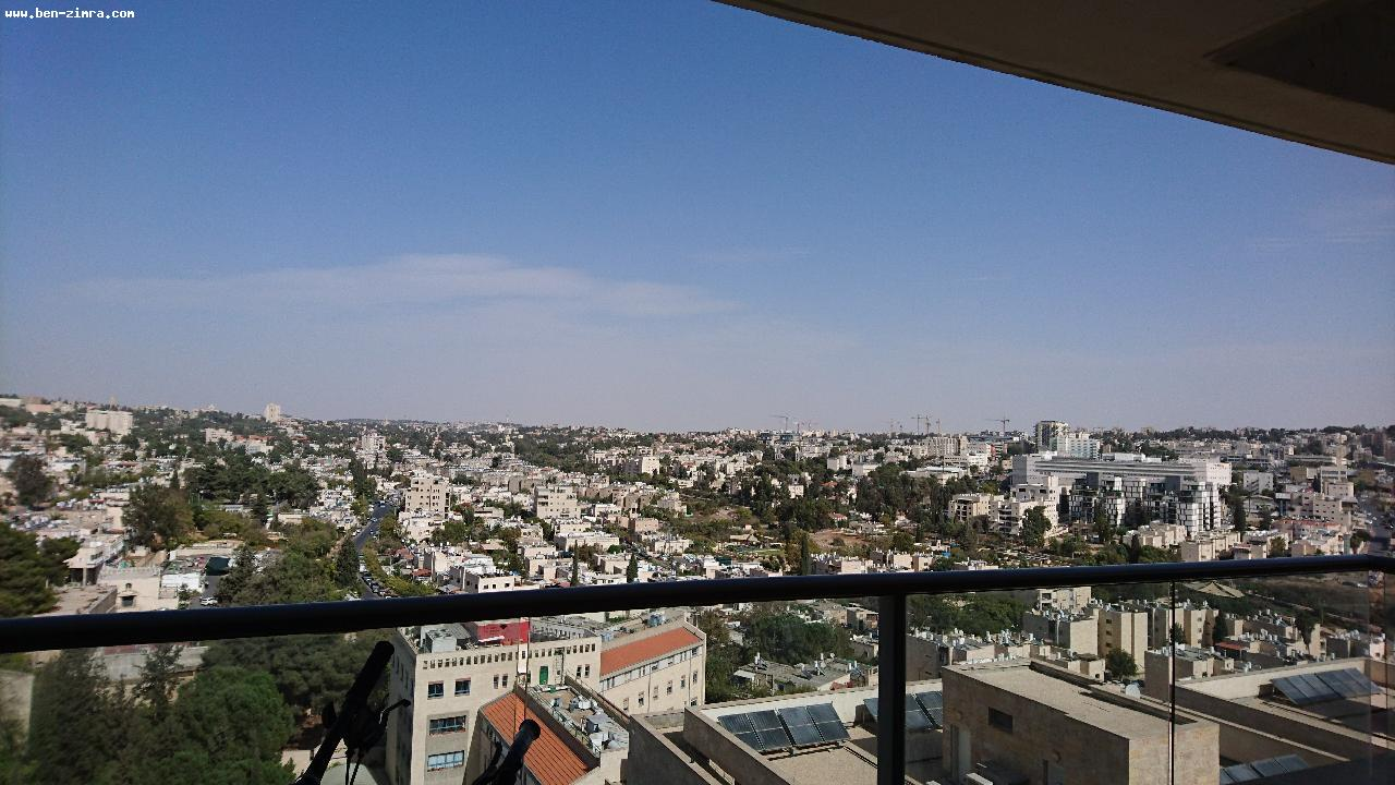 Real Estate Israel - Jerusalem Katamonim CLOSE TO OLD KATAMON,IN THE LUXURY PROJECT OF GANE TSION IN THE TOWER ,11th FLOOR WITH SHABBAT... Ben Zimra Real Estate