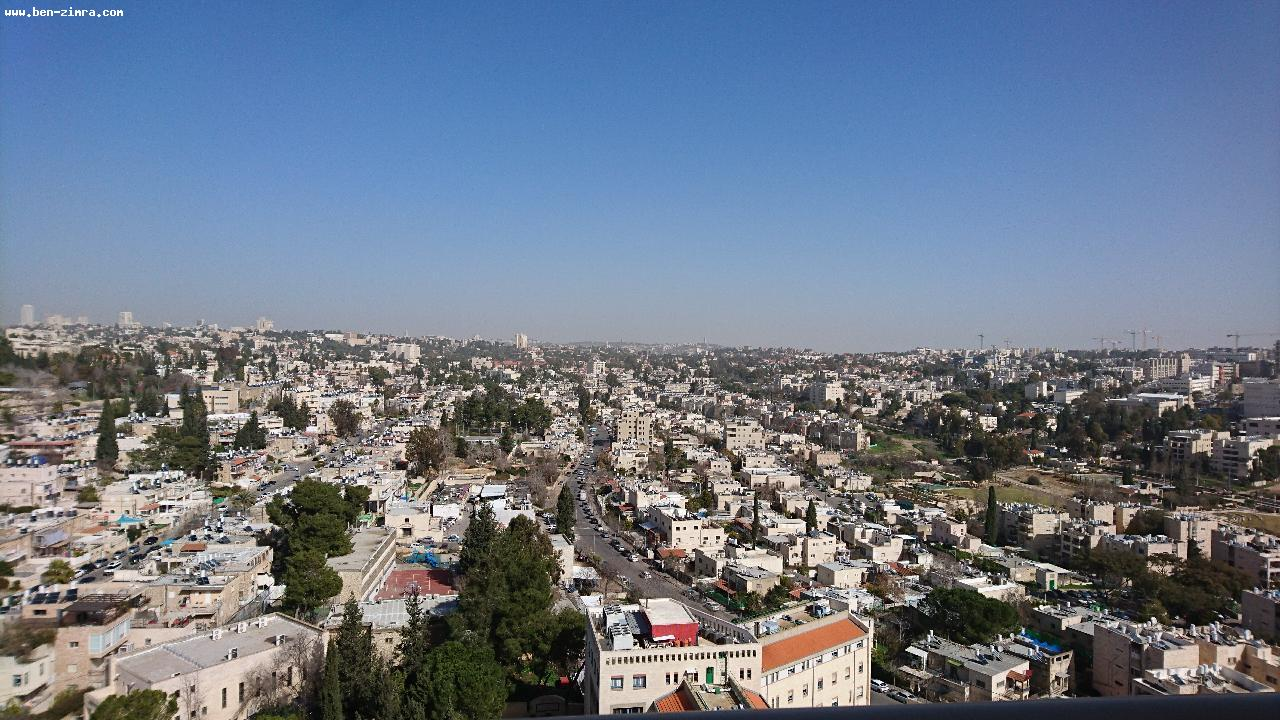 Real Estate Israel - Jerusalem Katamonim CLOSE TO OLD KATAMON,IN THE LUXURY PROJECT OF GANEI ZION IN THE TOWER ,HIGH FLOOR WITH SHABBAT... Ben Zimra Real Estate
